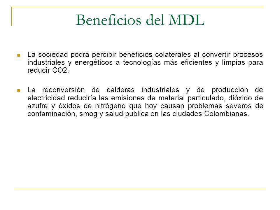 Beneficios del MDL