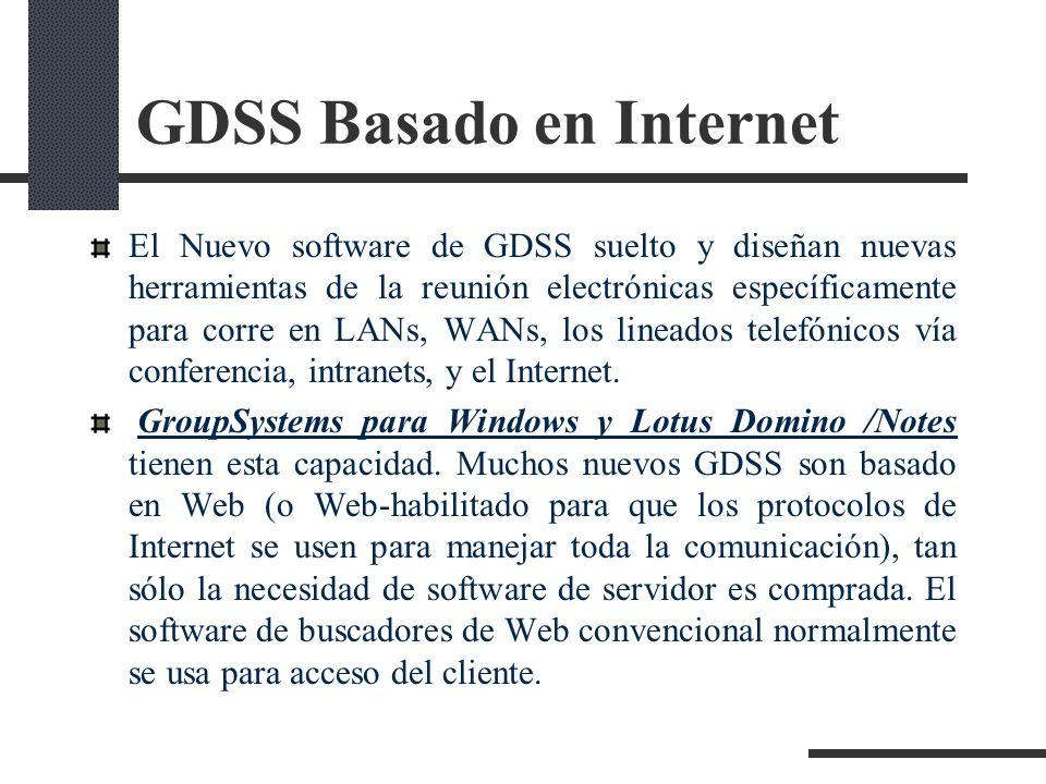 GDSS Basado en Internet