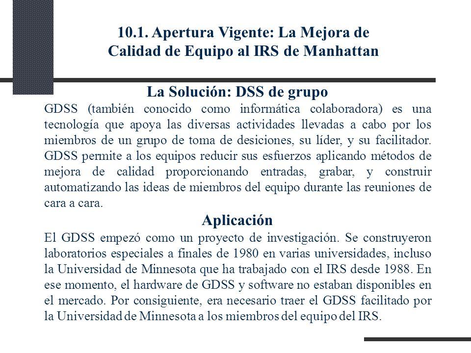La Solución: DSS de grupo