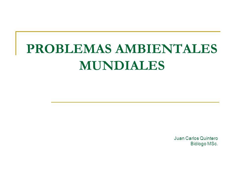 PROBLEMAS AMBIENTALES MUNDIALES