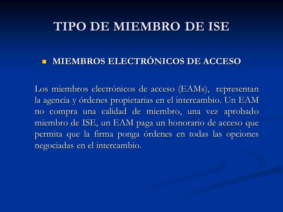 MIEMBROS ELECTRÓNICOS DE ACCESO