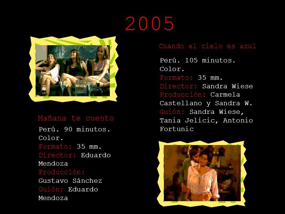 2005 Mañana te cuento Cuando el cielo es azul