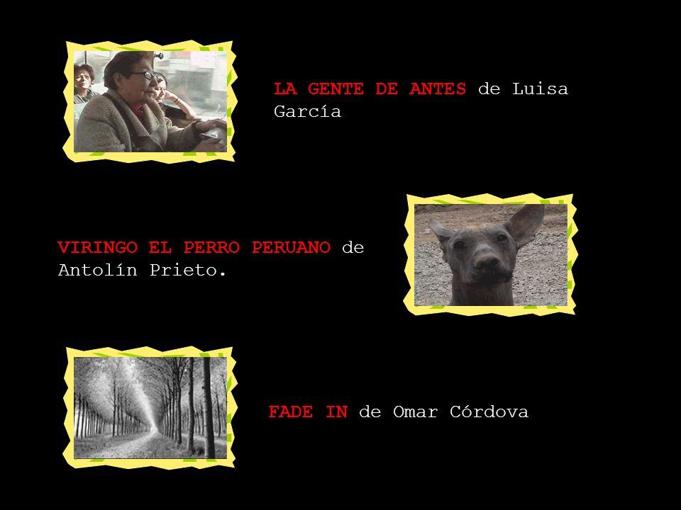 LA GENTE DE ANTES de Luisa García