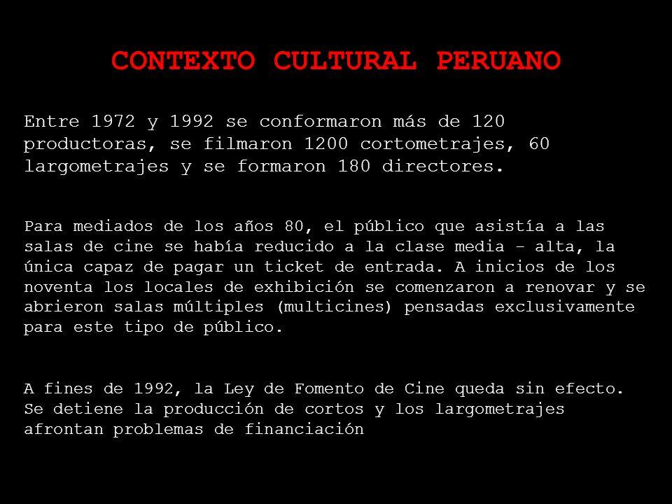 CONTEXTO CULTURAL PERUANO