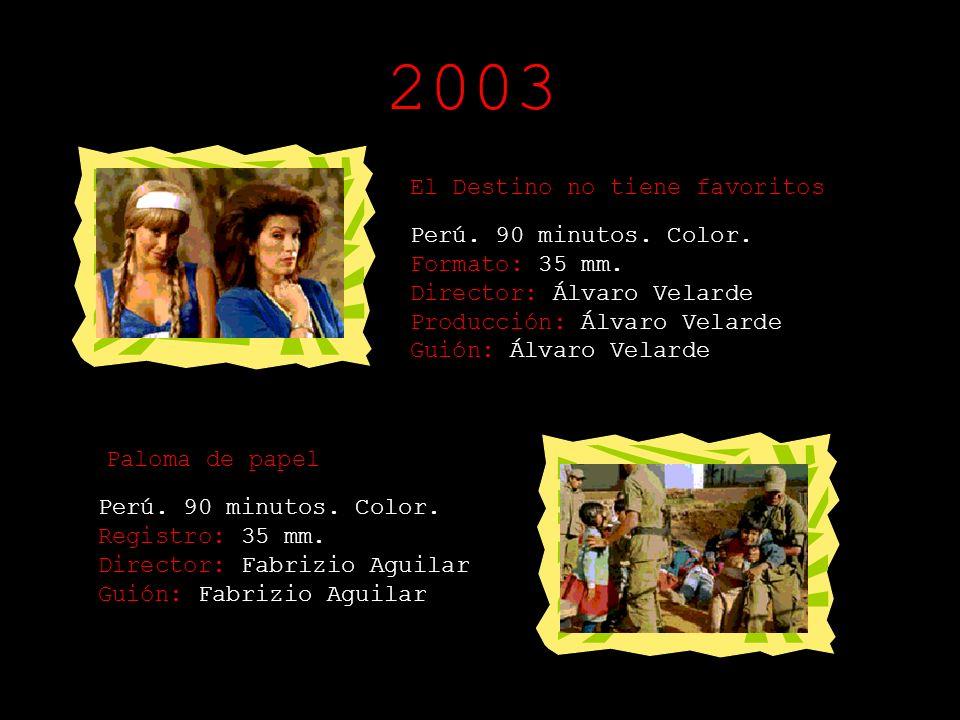 2003 El Destino no tiene favoritos