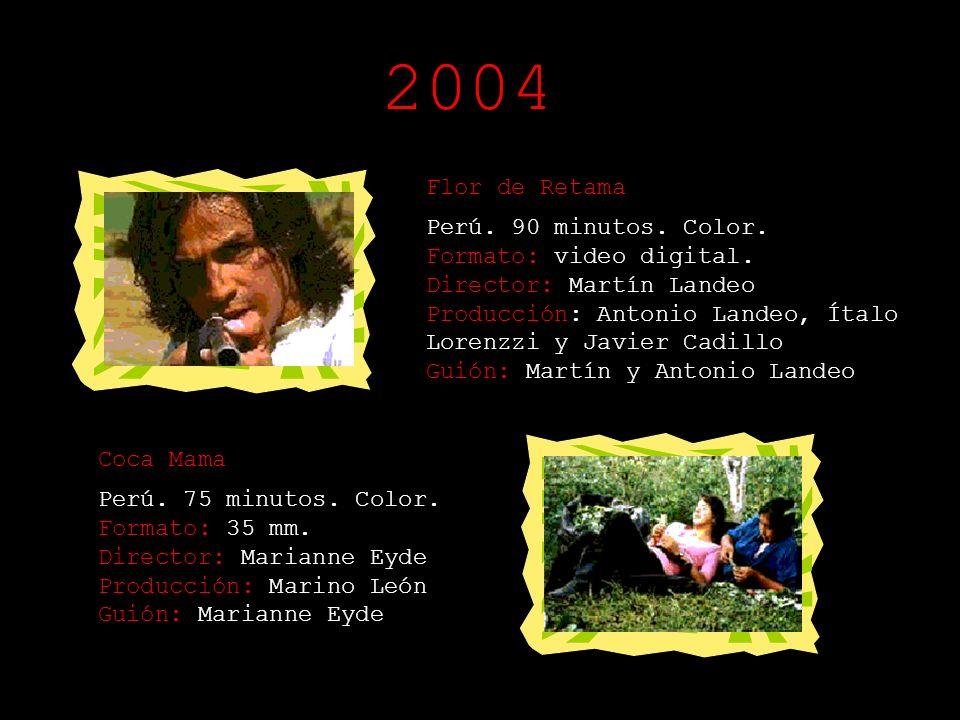 2004 Flor de Retama.