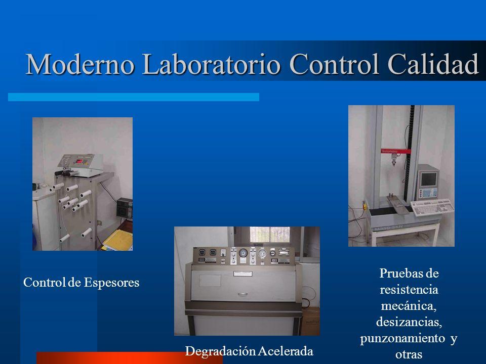 Moderno Laboratorio Control Calidad
