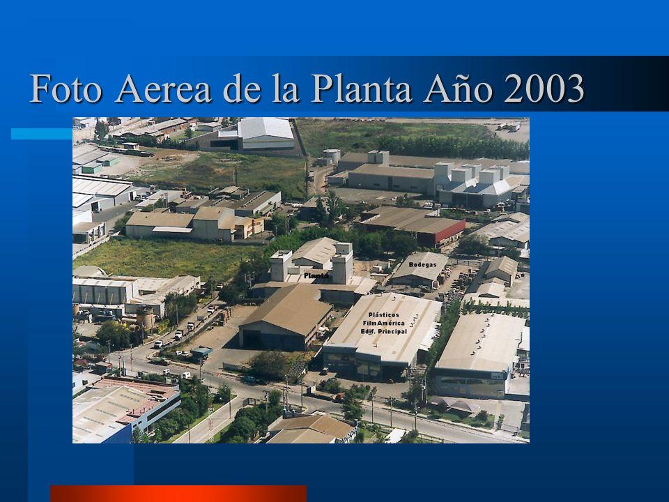 Foto Aerea de la Planta Año 2003