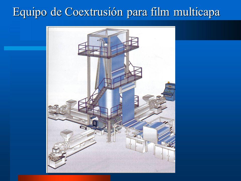 Equipo de Coextrusión para film multicapa
