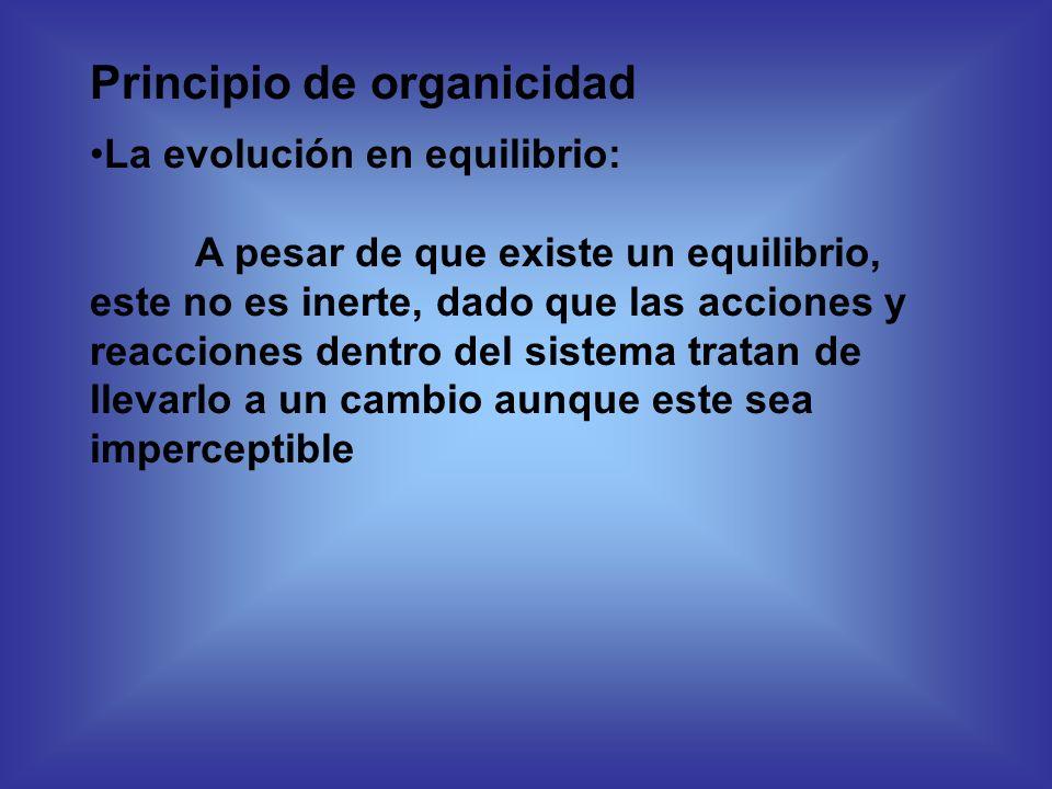 Principio de organicidad