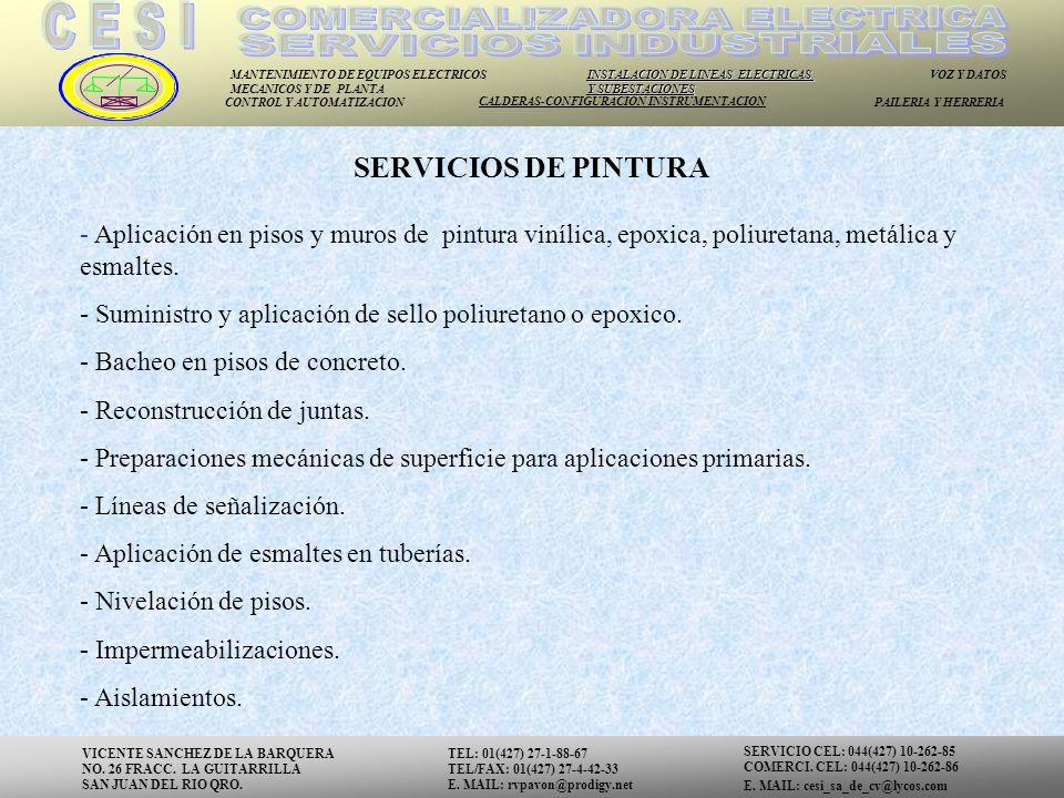 COMERCIALIZADORA ELECTRICA SERVICIOS INDUSTRIALES