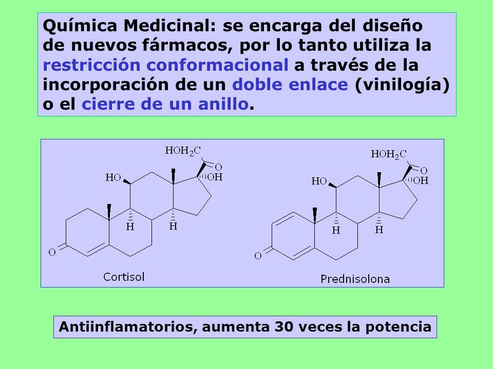 Química Medicinal: se encarga del diseño