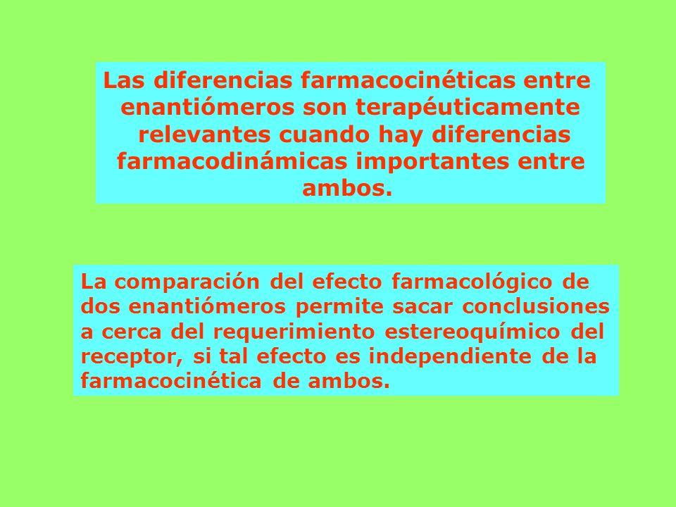 Las diferencias farmacocinéticas entre
