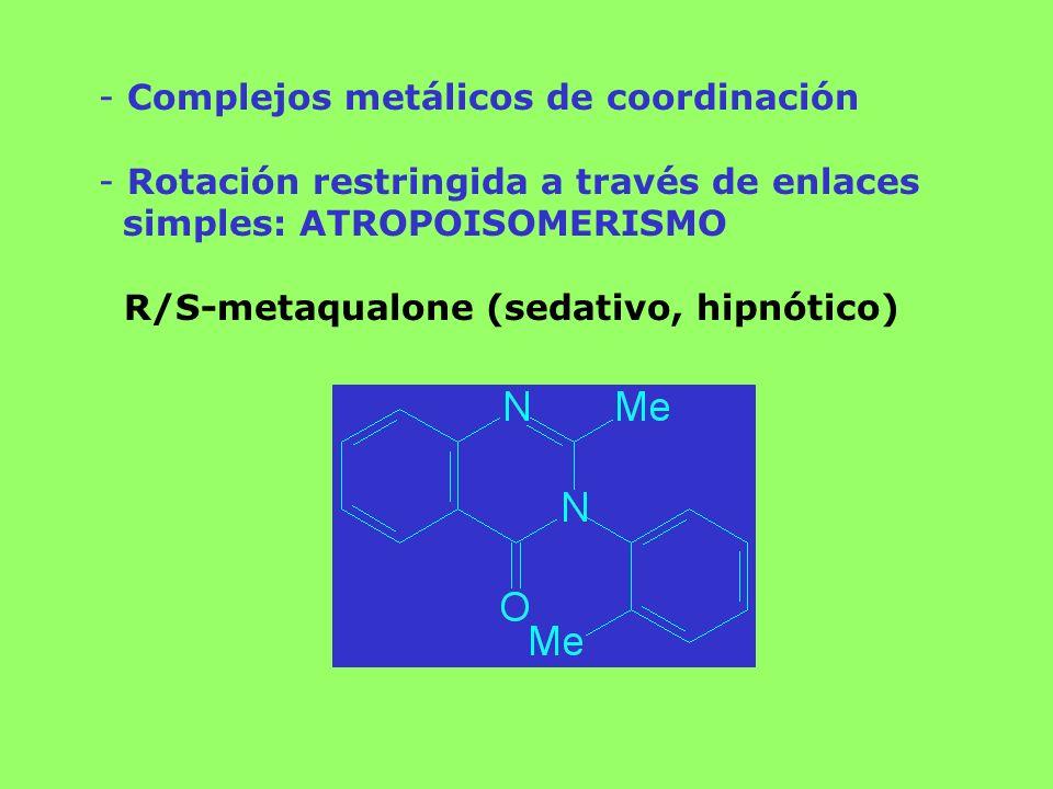 Complejos metálicos de coordinación
