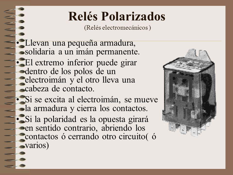 Relés Polarizados (Relés electromecánicos )