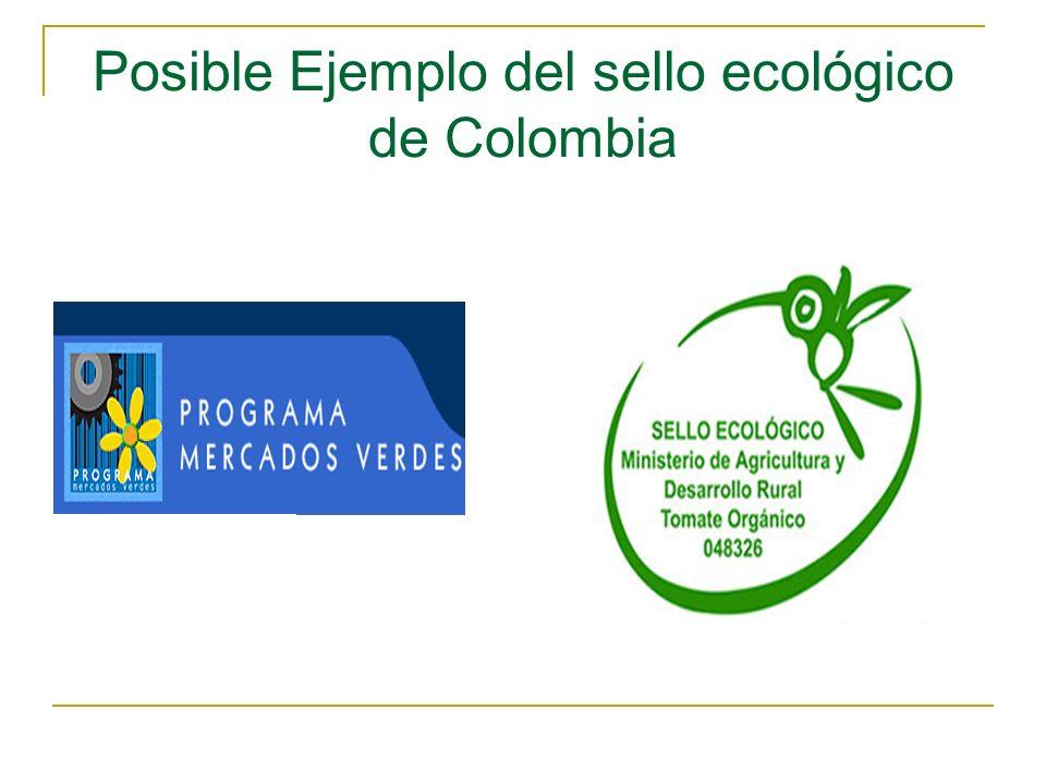 Posible Ejemplo del sello ecológico de Colombia