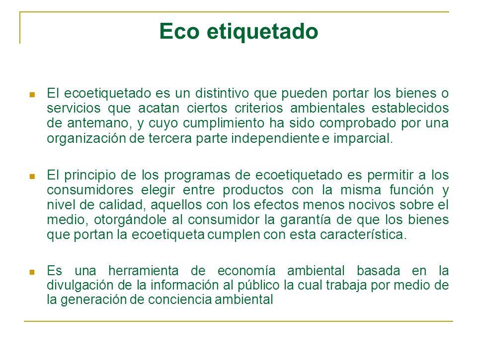Eco etiquetado
