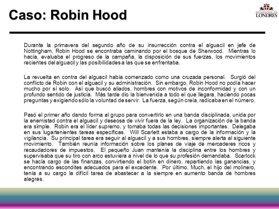 Caso: Robin Hood
