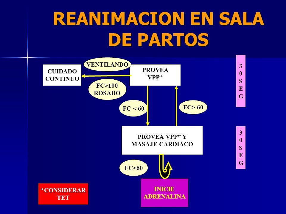 REANIMACION EN SALA DE PARTOS