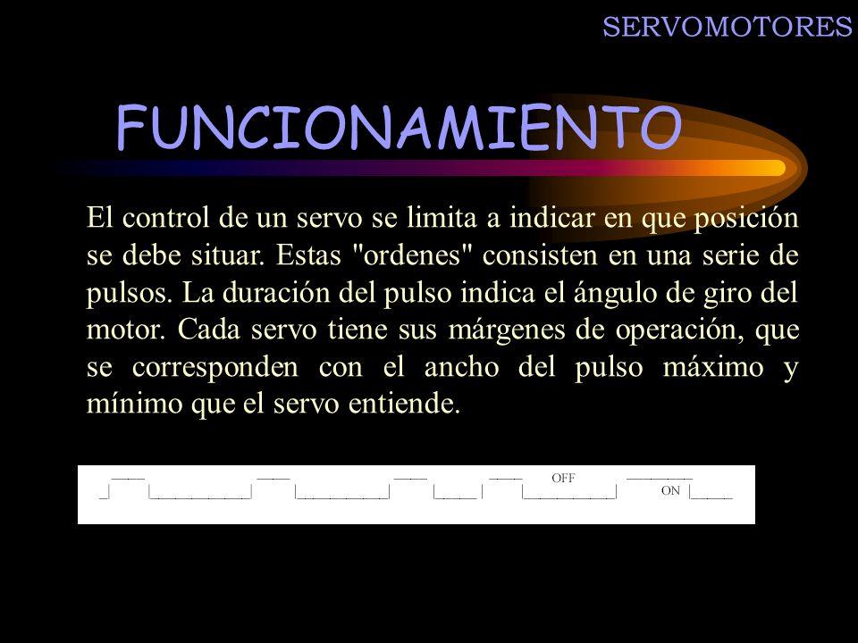 SERVOMOTORES FUNCIONAMIENTO.