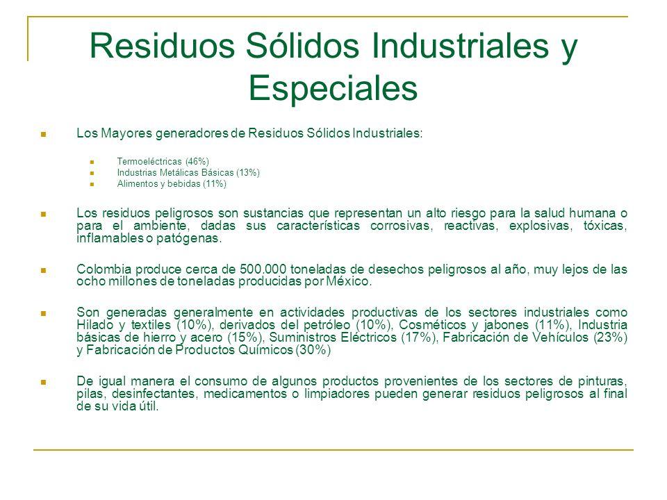 Residuos Sólidos Industriales y Especiales