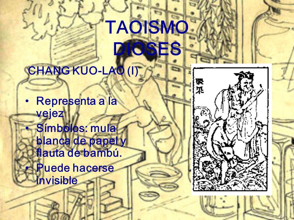 TAOISMO DIOSES CHANG KUO-LAO (I) Representa a la vejez