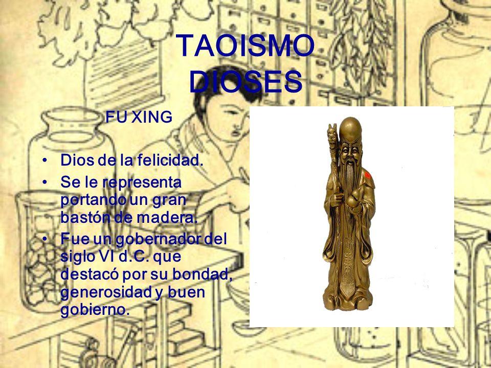 TAOISMO DIOSES FU XING Dios de la felicidad.