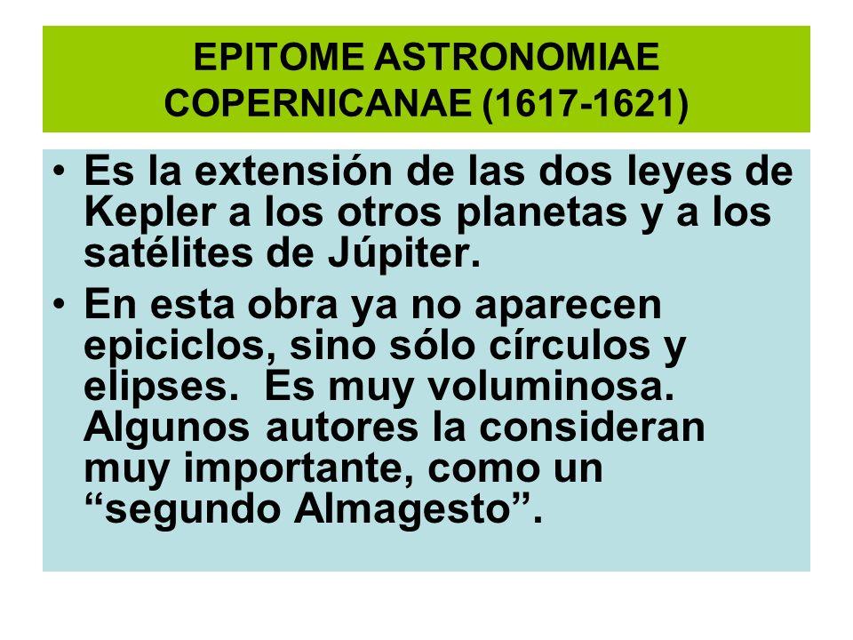 EPITOME ASTRONOMIAE COPERNICANAE (1617-1621)