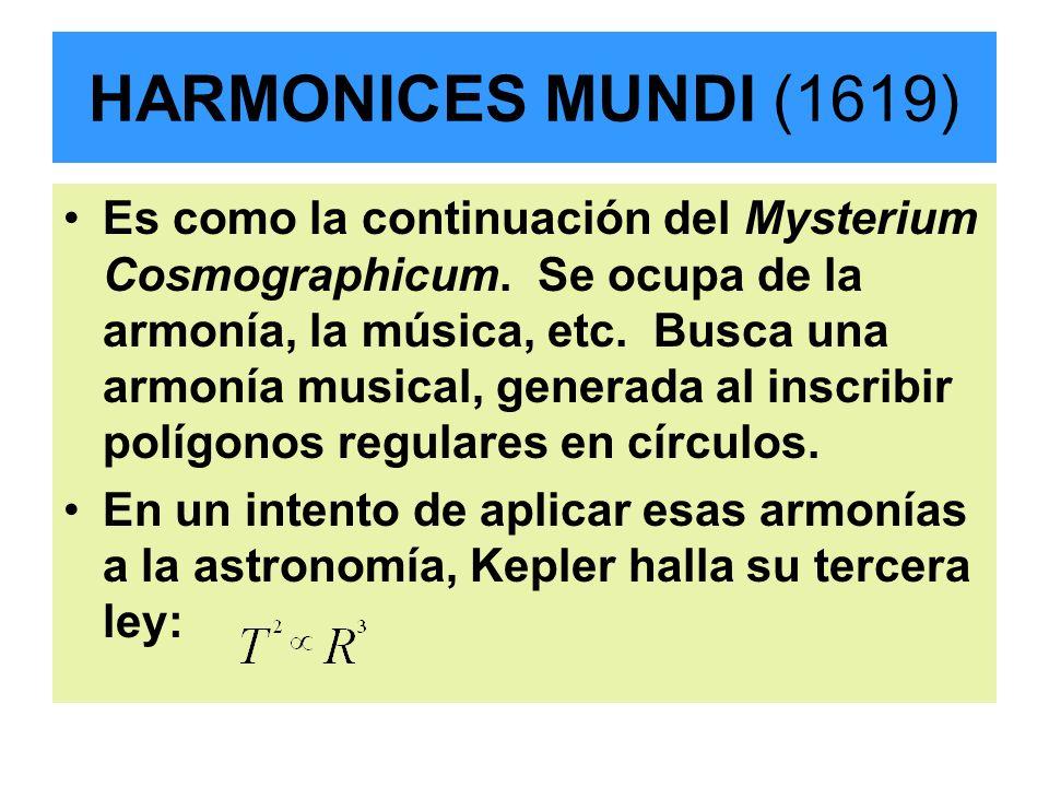 HARMONICES MUNDI (1619)
