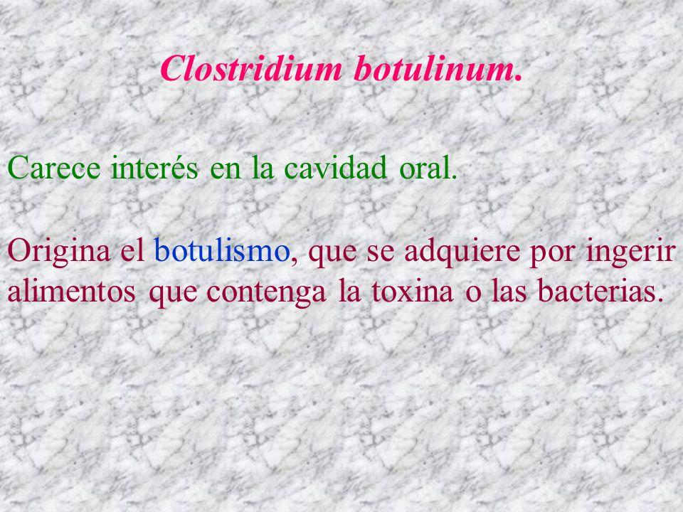 Clostridium botulinum.