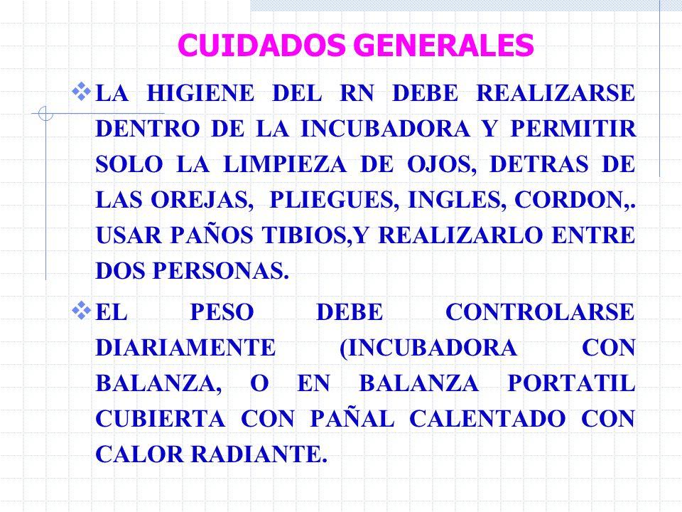 CUIDADOS GENERALES