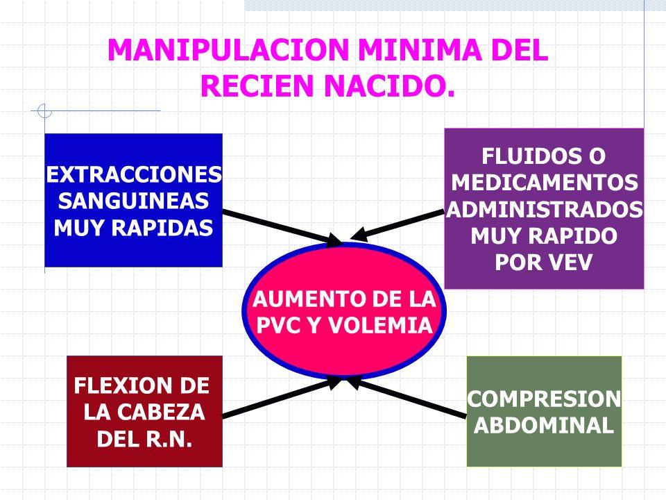 MANIPULACION MINIMA DEL RECIEN NACIDO.