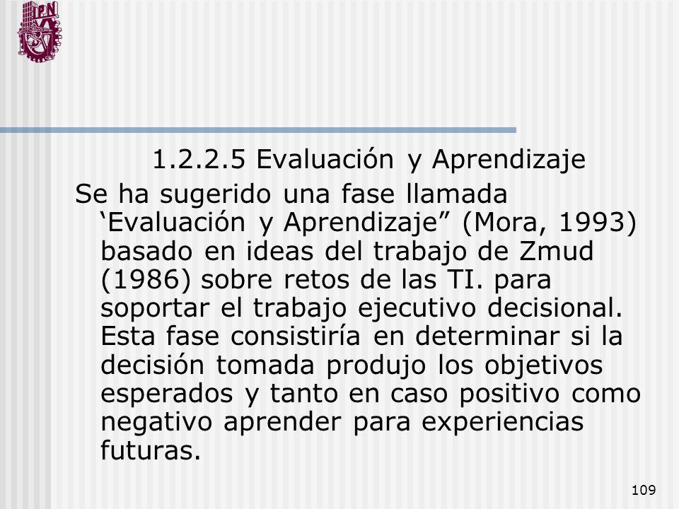 1.2.2.5 Evaluación y Aprendizaje