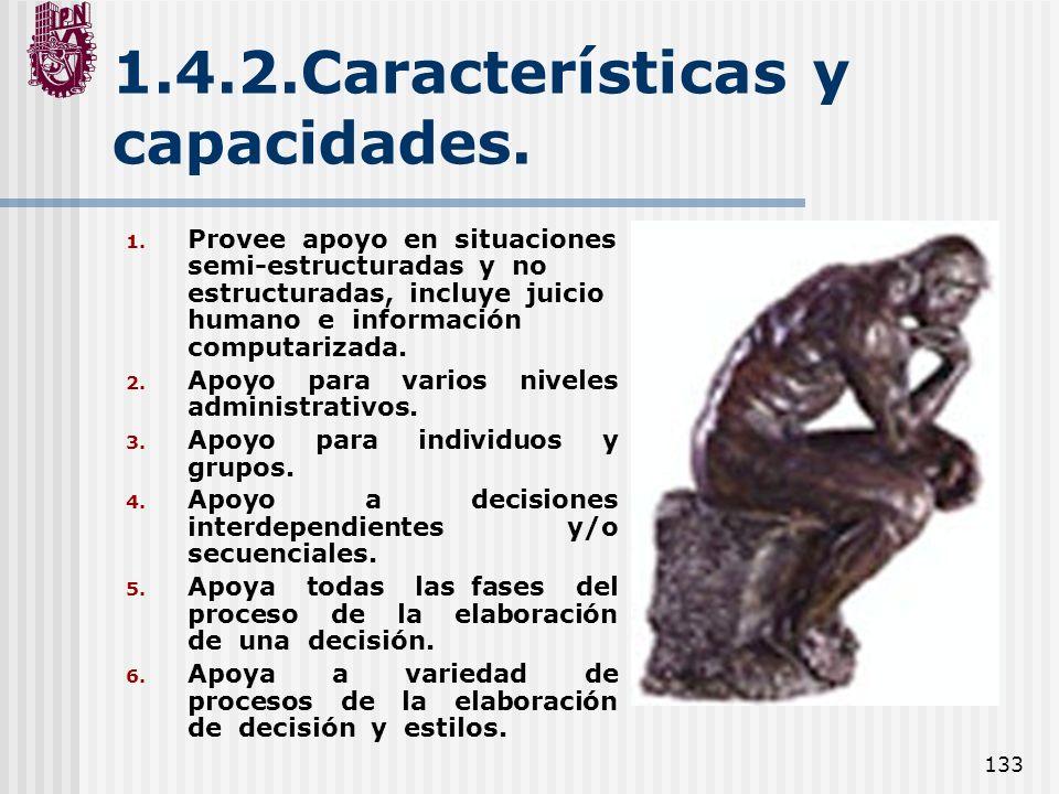 1.4.2.Características y capacidades.