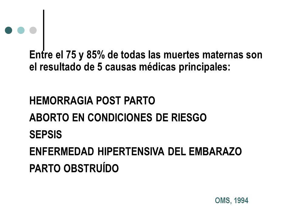 ABORTO EN CONDICIONES DE RIESGO SEPSIS