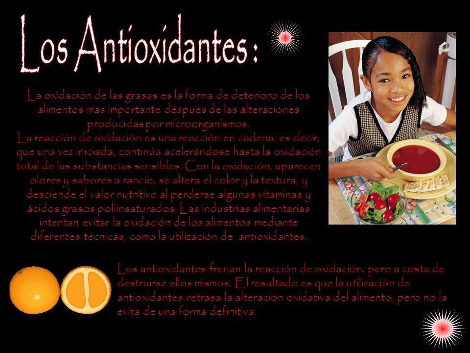 Los Antioxidantes :