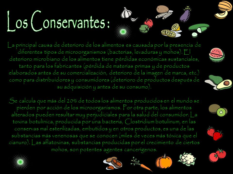 Los Conservantes :