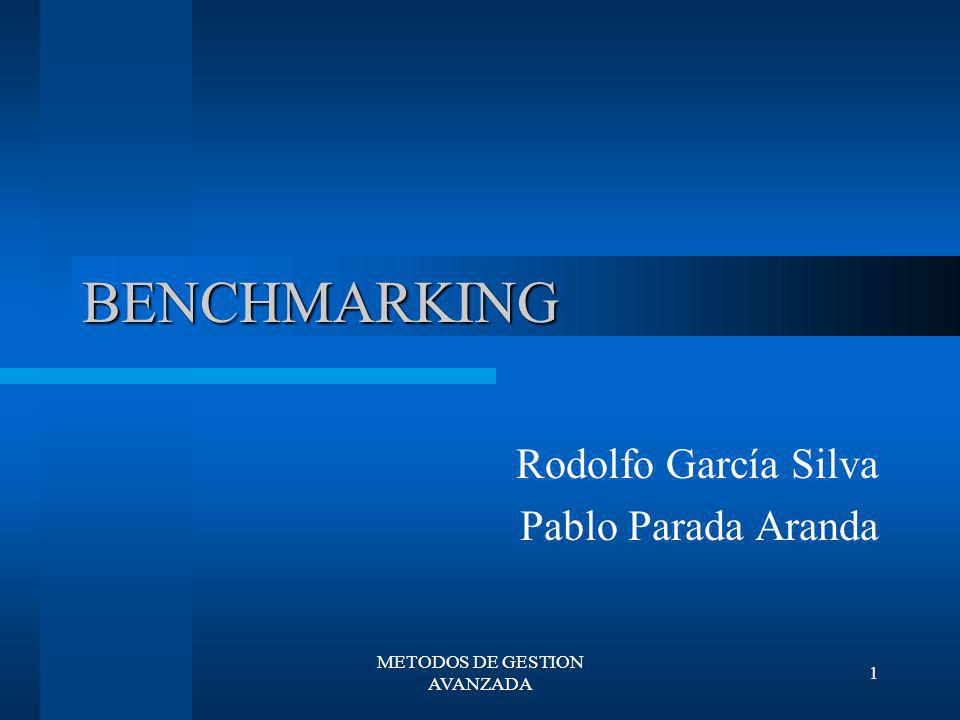 Rodolfo García Silva Pablo Parada Aranda