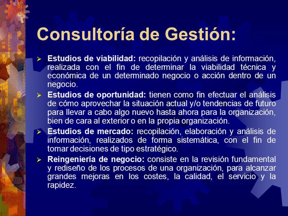 Consultoría de Gestión: