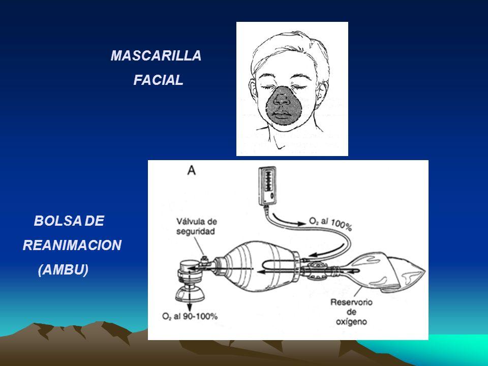 MASCARILLA FACIAL BOLSA DE REANIMACION (AMBU)