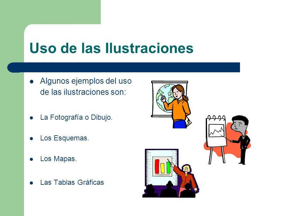 Uso de las Ilustraciones
