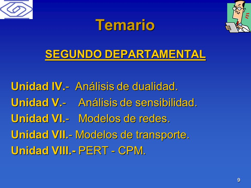 SEGUNDO DEPARTAMENTAL