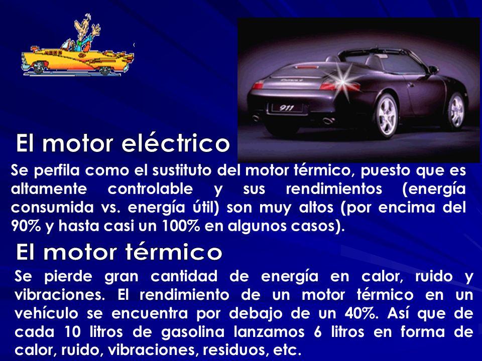 El motor eléctrico El motor térmico
