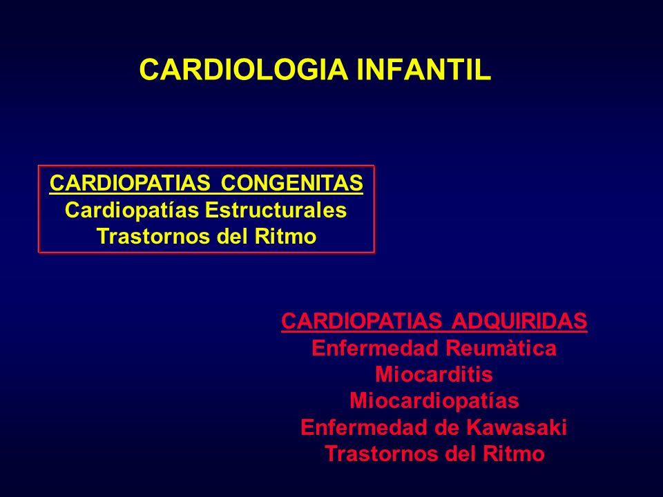 CARDIOLOGIA INFANTIL CARDIOPATIAS CONGENITAS