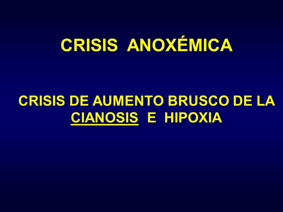 CRISIS DE AUMENTO BRUSCO DE LA CIANOSIS E HIPOXIA