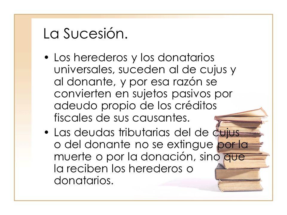 La Sucesión.