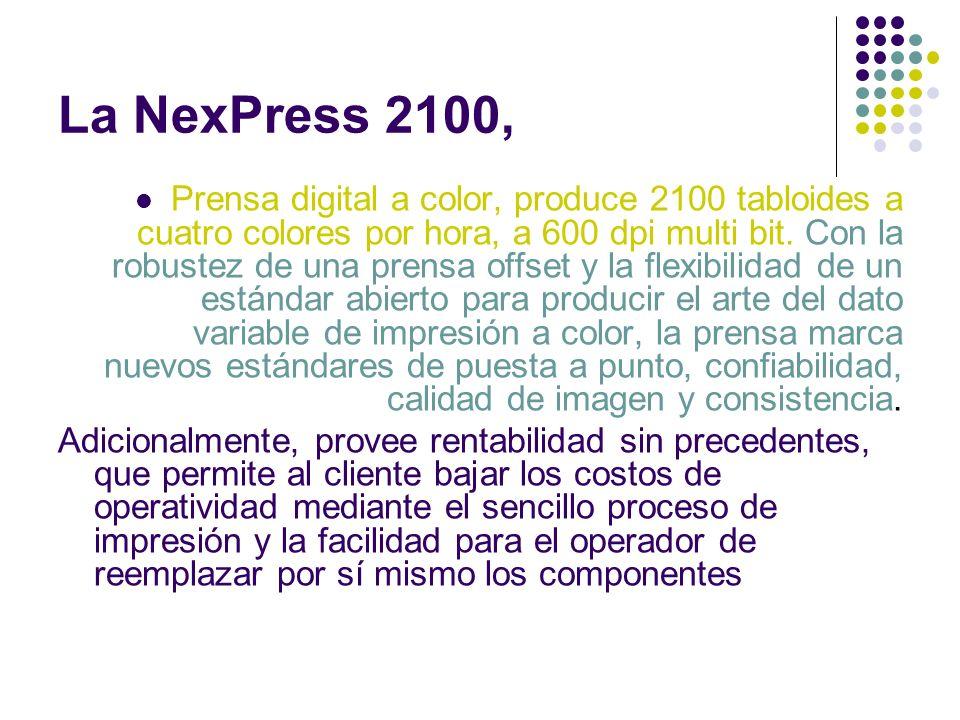 La NexPress 2100,