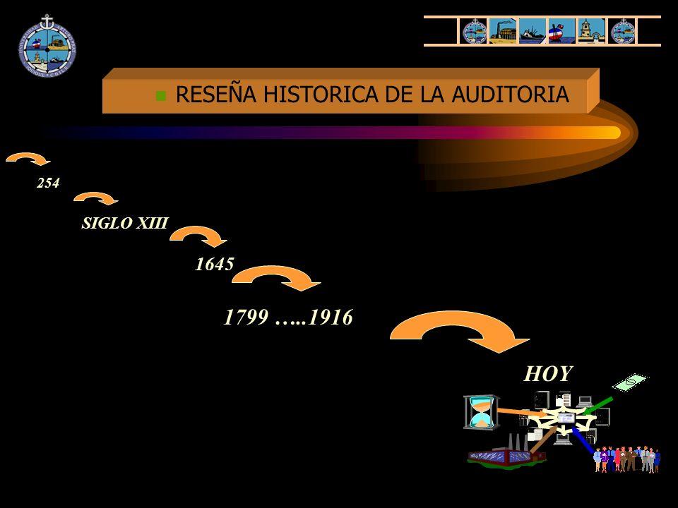 RESEÑA HISTORICA DE LA AUDITORIA