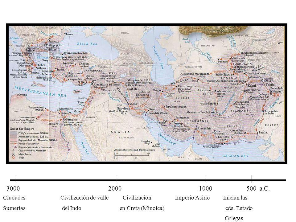 3000 2000 1000 500 a.C.