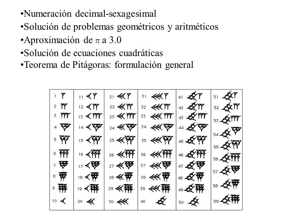 Numeración decimal-sexagesimal